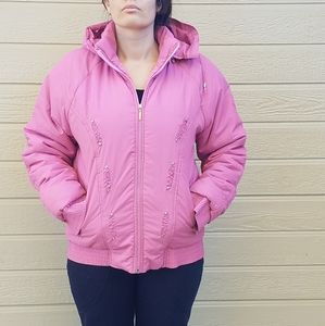 Woman's winter windproof coat